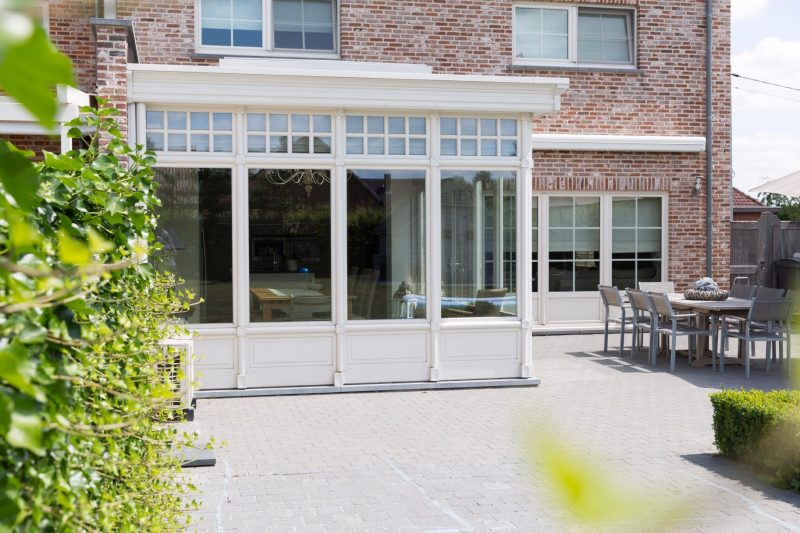 klassieke veranda miniflat