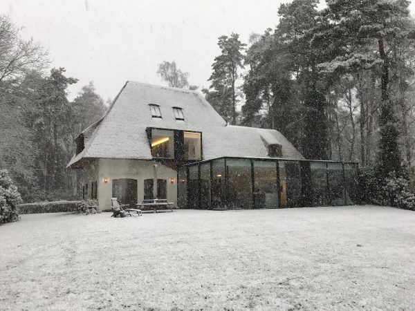 veranda verwarmen in de winter