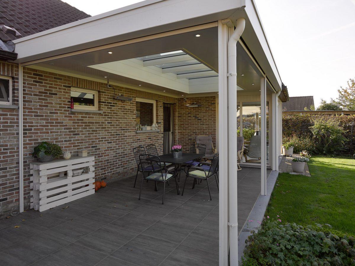 veranda of terrasoverkapping